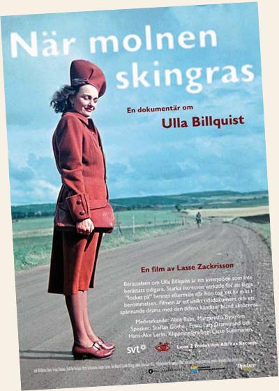 När molnen skingras - om Ulla Billquist
