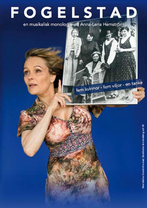 Anna-Lena Hemström - FOGELSTAD fem kvinnor - fem viljor - en tanke