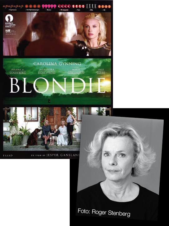 Möt Marie Göranzon i filmen Blondie